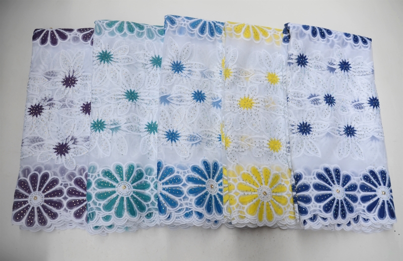 1 african french lace fabric