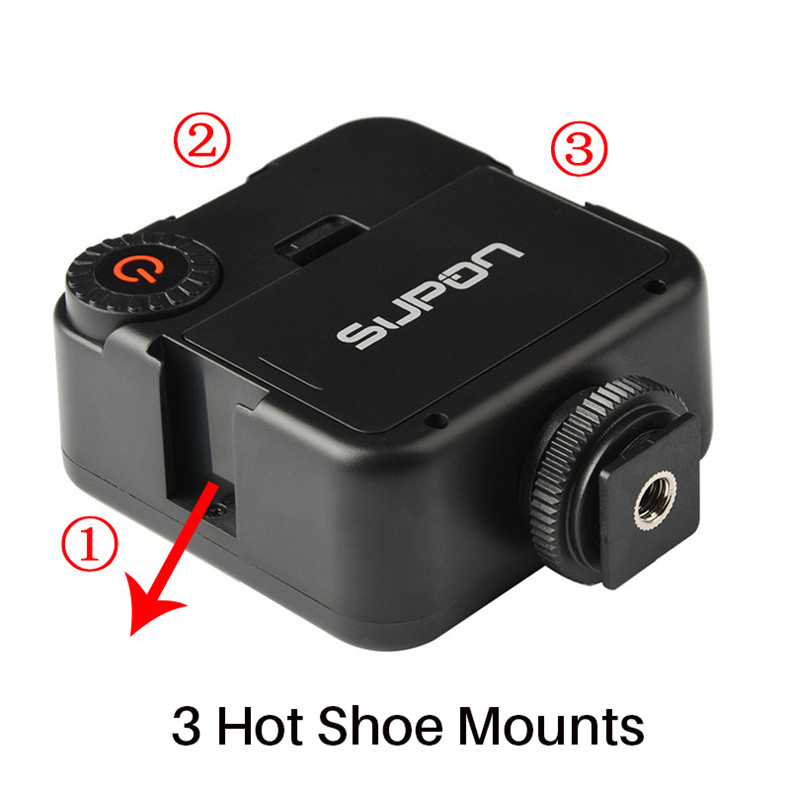 mini video light for phonegraphy