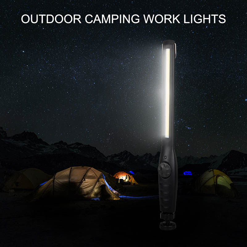 USB Nightlight Charging Flashlight Inspection Hanging Torch Lantern Built-in 3000mah Battery Camping Outdoor COB Working Inspection Light