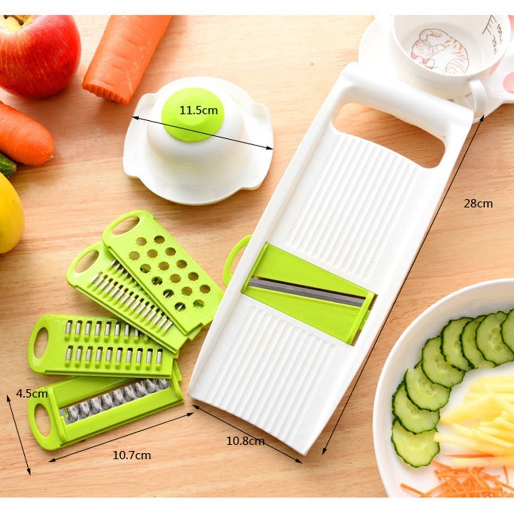 Mandoline Peeler Grater Vegetables Cutter tools with 5 Blade Carrot Grater Onion Vegetable Slicer Kitchen Accessories14