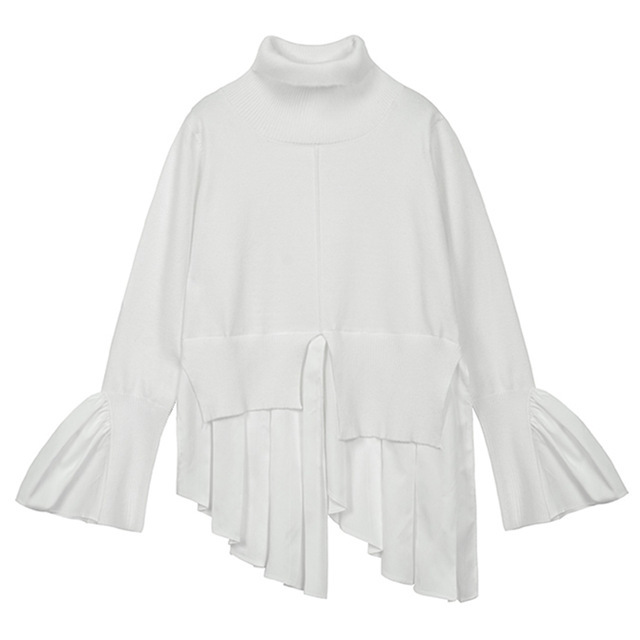 TWOTWINSTYLE-Patchwork-Lady-s-Sweater-Turtleneck-Flare-Sleeve-Irregular-Sweaters-For-Women-Spring-Casual-Pullover-2018.jpg_640x640