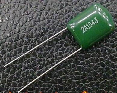 100NF 0.1UF 2A104 100V Condensadores de Película de Poliéster