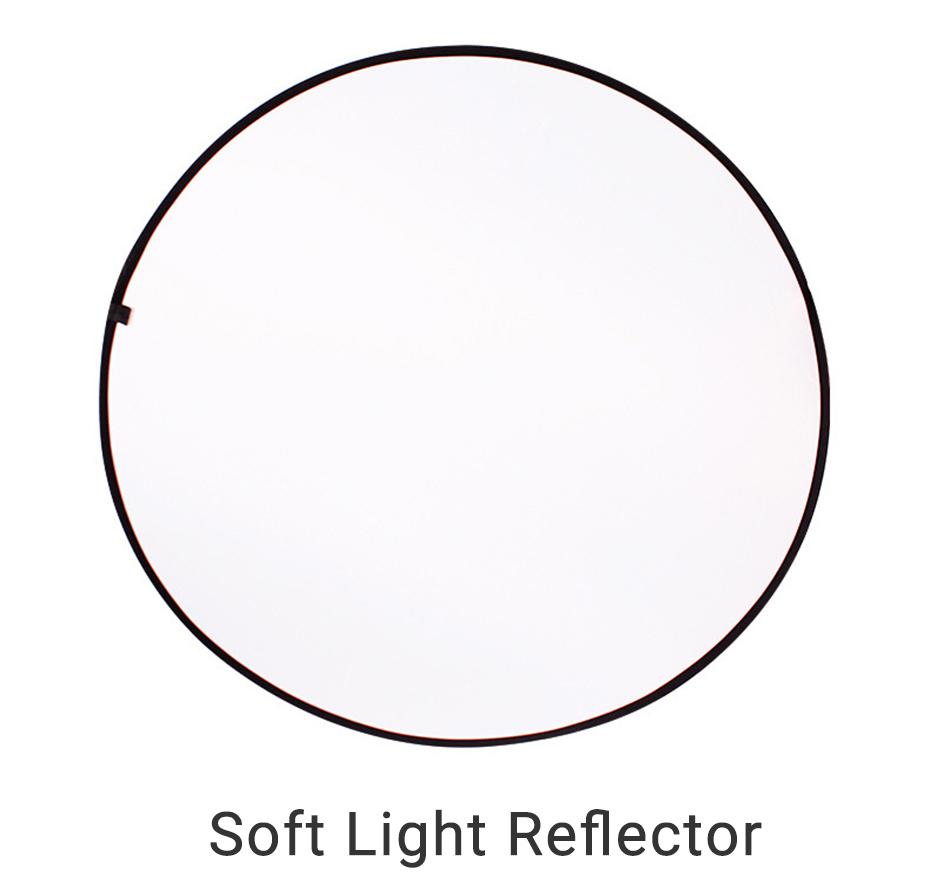 TiYiViRi 60CM 80CM 5 in 1 Collapsible Multi-Disc Light Reflector Round PhotographyPhoto Reflector with Cariing Bag for Studio (12)