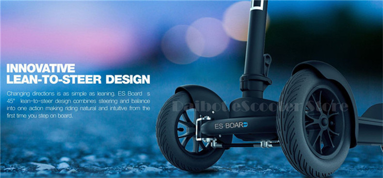 Daibot Electric Scooters Adults 3 Wheels ES Board Self Balancing Scooters 450W Brushless Motor Kids Foldable Electric Skateboard (16)