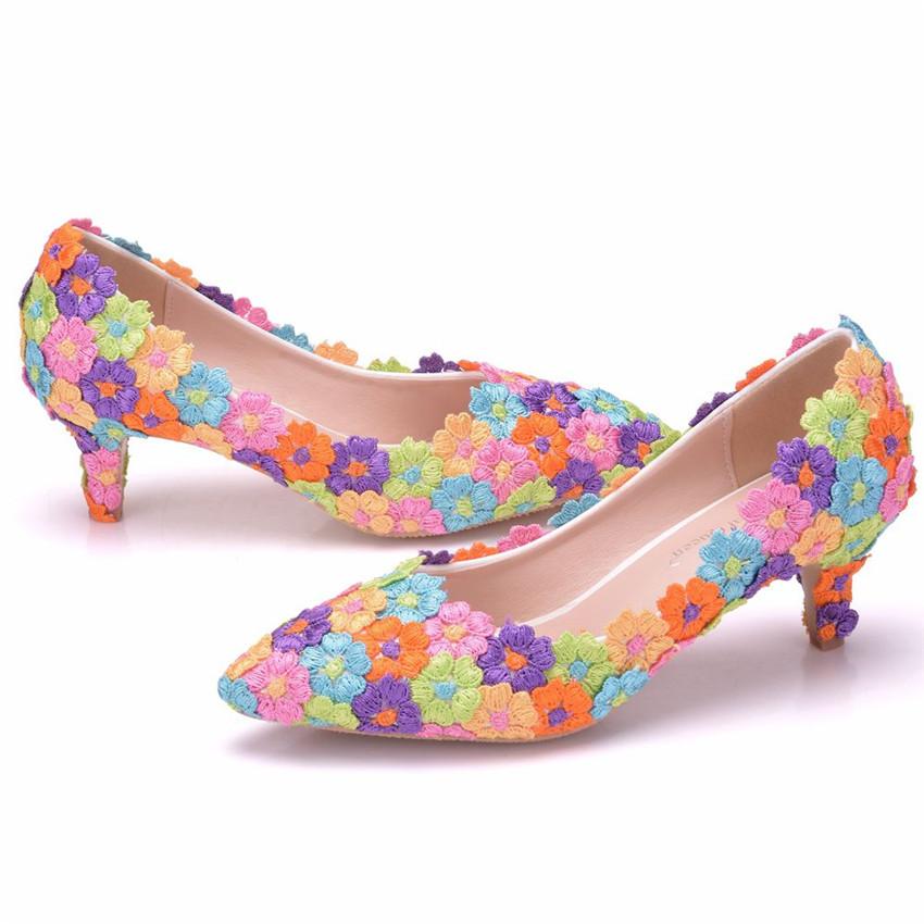 Womens Girls Crystal High Heels Platform Stilettos Bow Knot Pump Shoes NEW G293