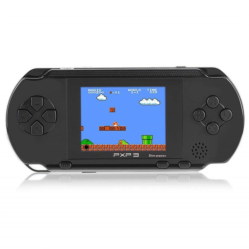 16 Bit Handheld Game Console Portable Video Game Player Retro PXP3 2.7 Inch Mini Pocket Gaming Console Best Xmas Gift for Kids