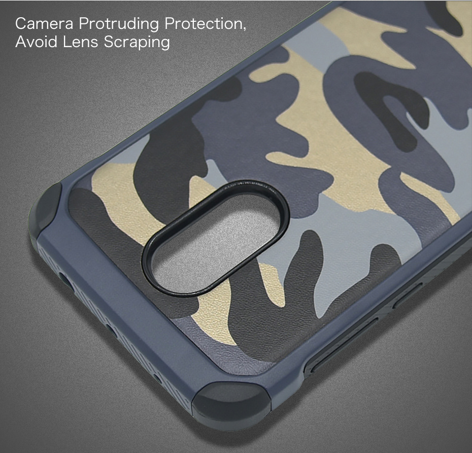 Millet 6 mobile phone shell red rice note43 protective sleeve 5 creative camouflage all inclusive anti fall soft silicone Combo (7)