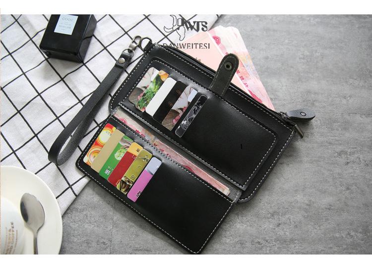 women wallets genuine leather