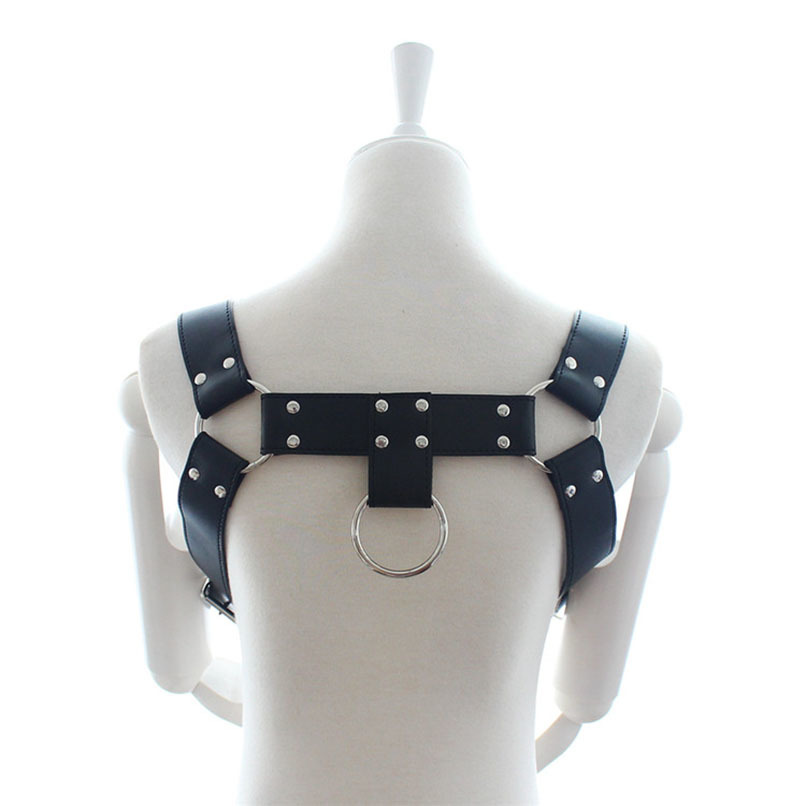 PU Leather Sexy Belts for Men S&M Erotic Toys Fetish Wear Adult Sex Game Bondage Restraint Gear Body Harness Sex Toys Products