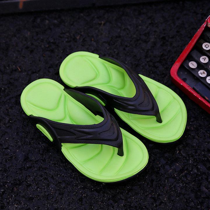 High Quality Quick Drying Soft Summer Sandals Beach Flip Flop Bath Skidproof Slider Casual Flat Eva Slipper (1)
