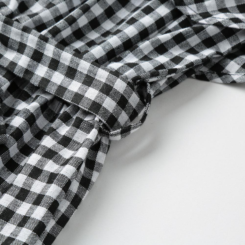 2017 Brand Women Plaid Ruffles Jumpsuit Off Shoulder Coveralls Romper Playsuit Summer Beachwear With Belt Black Body Feminino