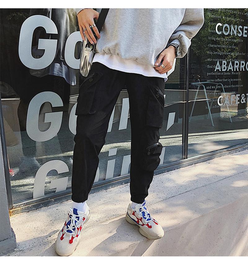 Pocket Tactical Fashions Men Hip Hop Pants Man (26)