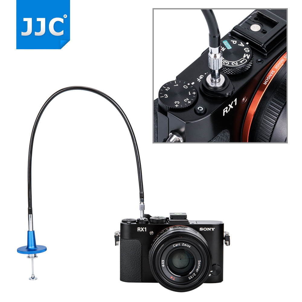 wholesale Camera Shutter Release Cable Connector Photography Mechanical Remote Control Cord for Fujifilm/Leica/Canon/Nikon/Sony