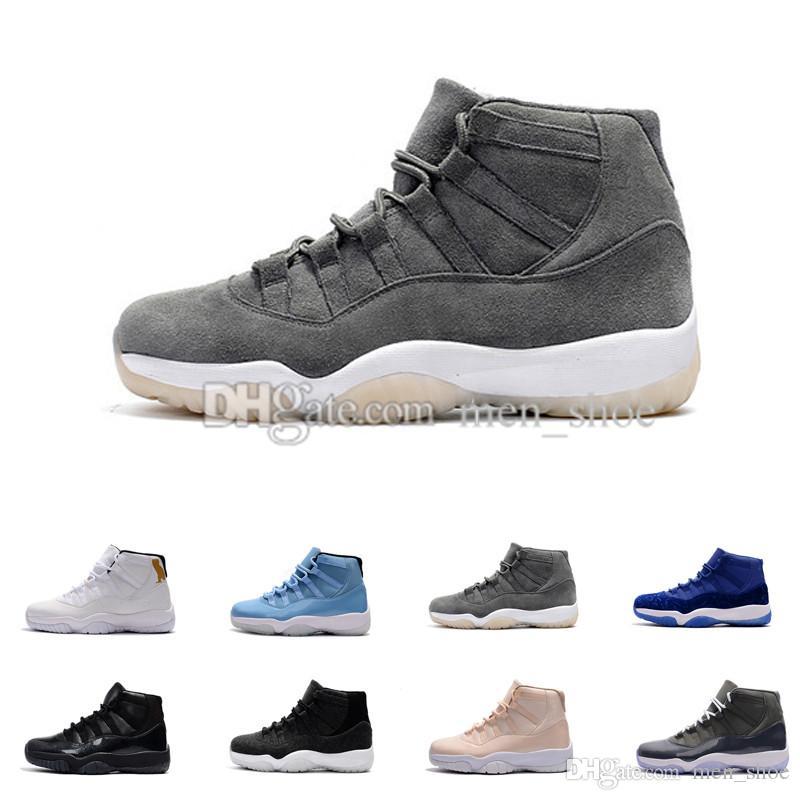 Grossiste (11) Chaussures de basket XI Breds 11 Space Jam Chaussures de sport pour hommes Baskets pour femmes Bottes d'athlétisme à bas prix 11
