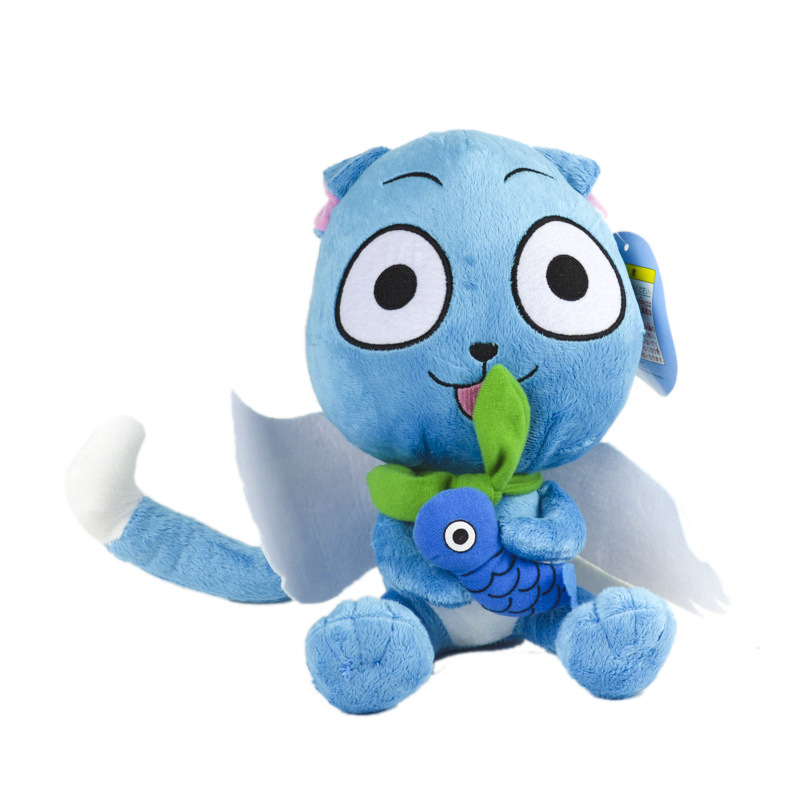 """Fairy Tail Plush Toys Cute Happy 12"""" inch 30cm Dolls Stuffed Figure Toys Children's Gifts Hot Sale"""