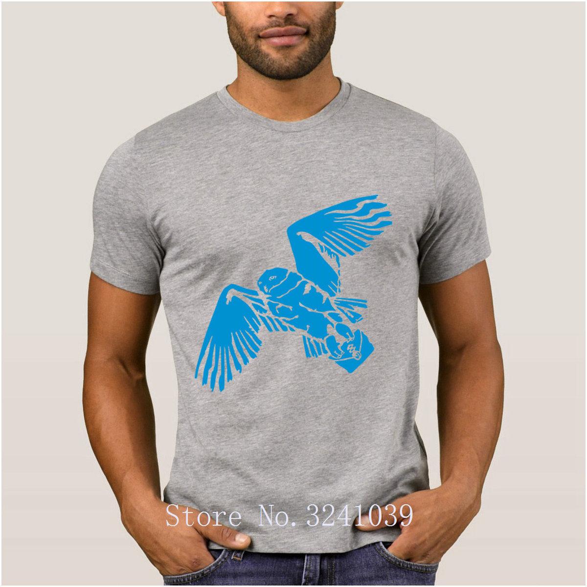 La Maxpa Printing Building hedwig negative men's t shirt Sunlight Graphic t-shirt man Novelty tshirt Euro Size S-3xl Basic Solid