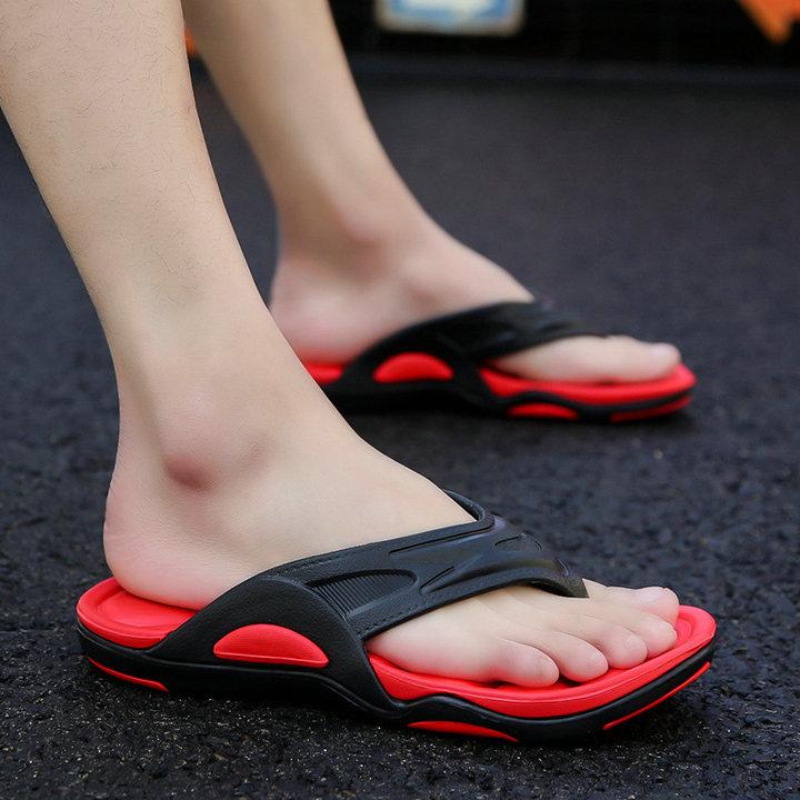 High Quality Quick Drying Soft Summer Sandals Beach Flip Flop Bath Skidproof Slider Casual Flat Eva Slipper (8)