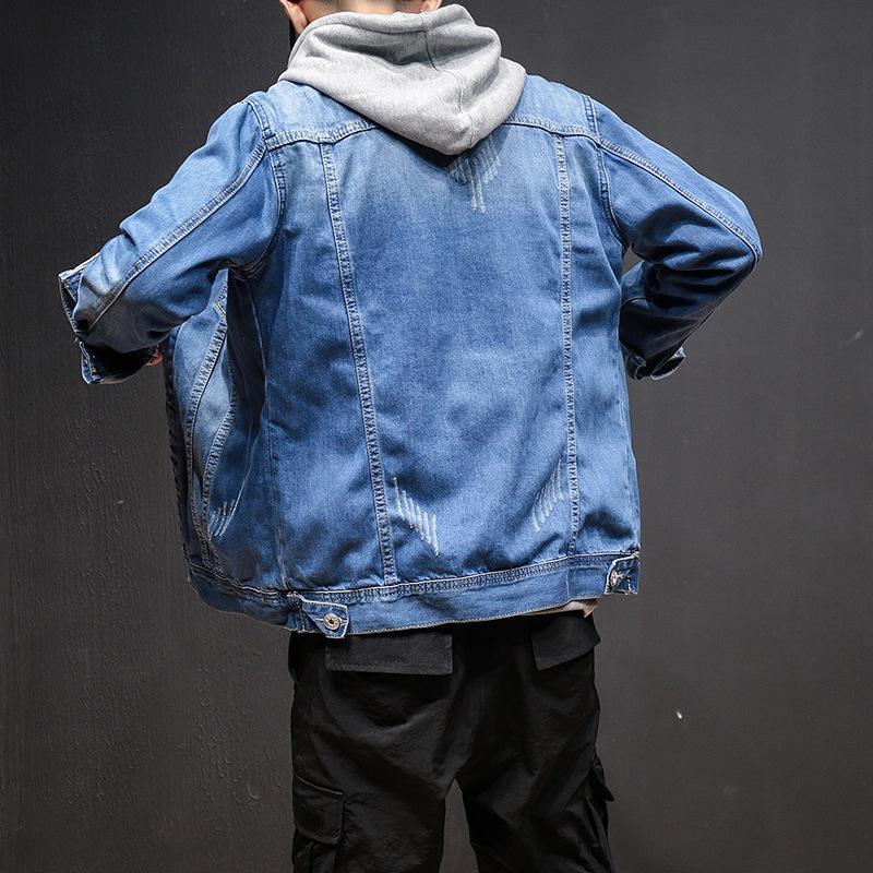Erkek Ceket Erkekler için Chaqueta Moda Sıcak Satış Ince Sonbahar Uzun Kollu Streetwear Erkek Giyim Boyutu M-5XL