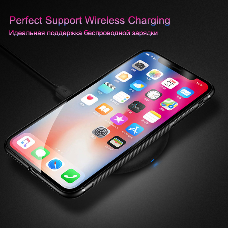 Glass Case For iPhone X 8 7 6 6s Plus Luxuxy Mobile Phone Back Cover Case -5