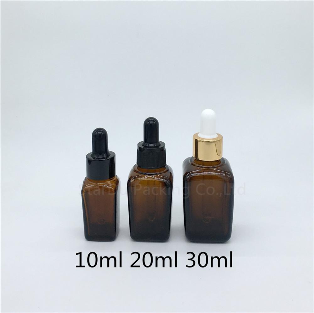 12 unidades vac/ías recargables de cristal /ámbar gotas de aceite esencial botellas de aromaterapia cosm/éticos Elite l/íquido recipiente