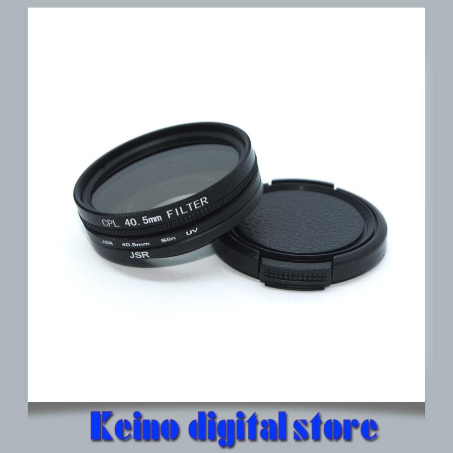 6 filtro de cámara de bolsillo Lente UV CPL A Prueba De Golpes Soporte Bolso Estuche Bolsa Billetera L/&6