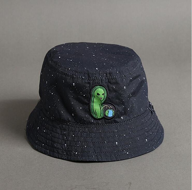 Men/'s Women Summer Cotton Banana Print Bucket Foldable Fisherman Hat Cap C