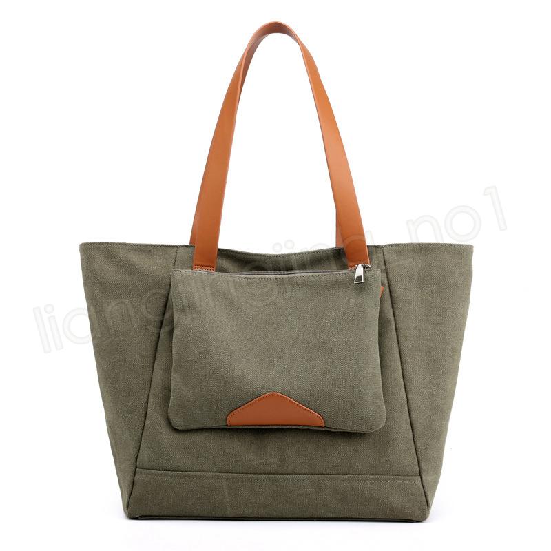 6 renkler Kadın Kanvas Çanta Omuz Çantaları Kadın Taşınabilir Tüm Maç Basit Eğlence çanta messager Çanta açık Depolama Organizatör GGA1150