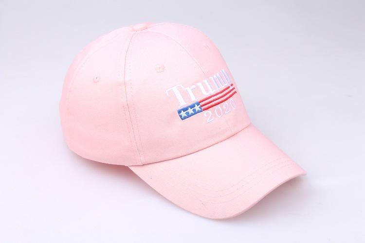 Bordado Trump 2020 Make America Great Again Donald Trump Gorras de béisbol Sombreros Gorras de béisbol Adultos Deportes Sombrero