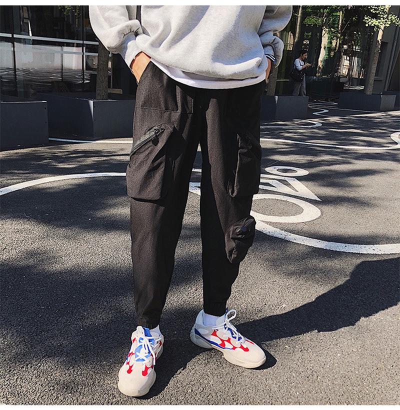 Pocket Tactical Fashions Men Hip Hop Pants Man (25)