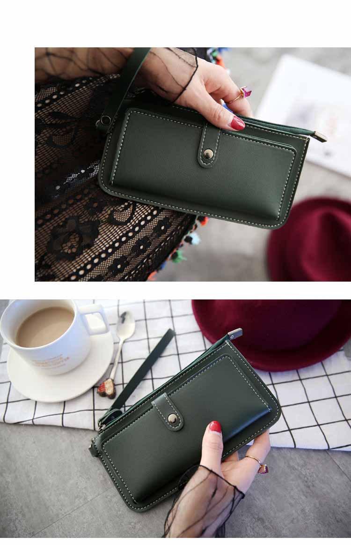 wallet women long