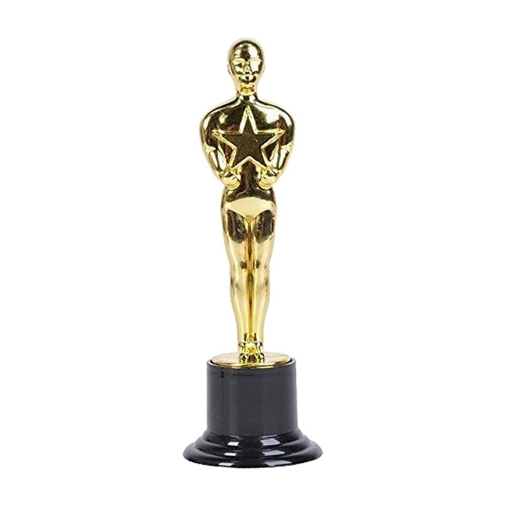 Millennial Participation Gold Trophy 3pk #1 WINNER Ceremony Party Favor Novelty