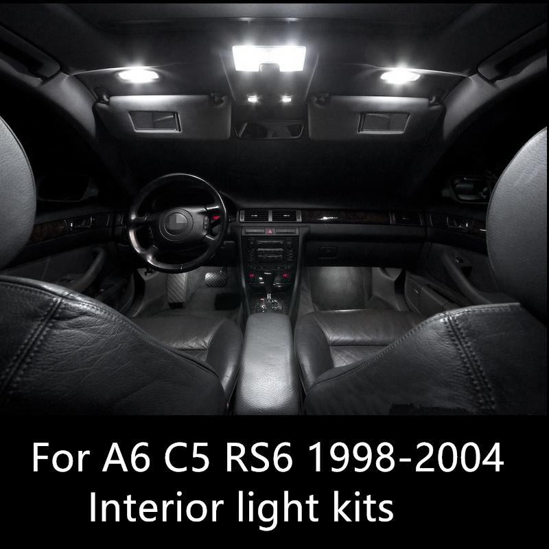 Car External & Indicator Light Bulbs & LEDs AUDI A6 C5 S5 1998 ...