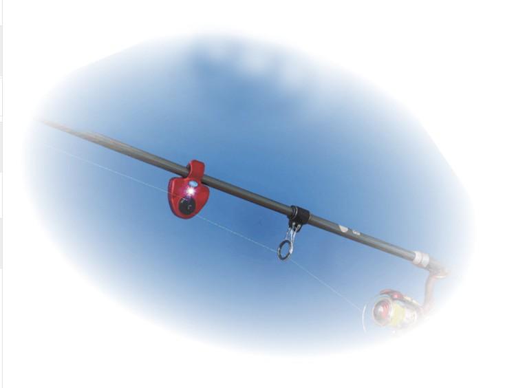 LED Işık Evrensel Balıkçılık Alarm Elektronik Balık Bite Alarm Bulucu Ses uyarısı Olta Balıkçılık Aksesuarları LED Işık Klip