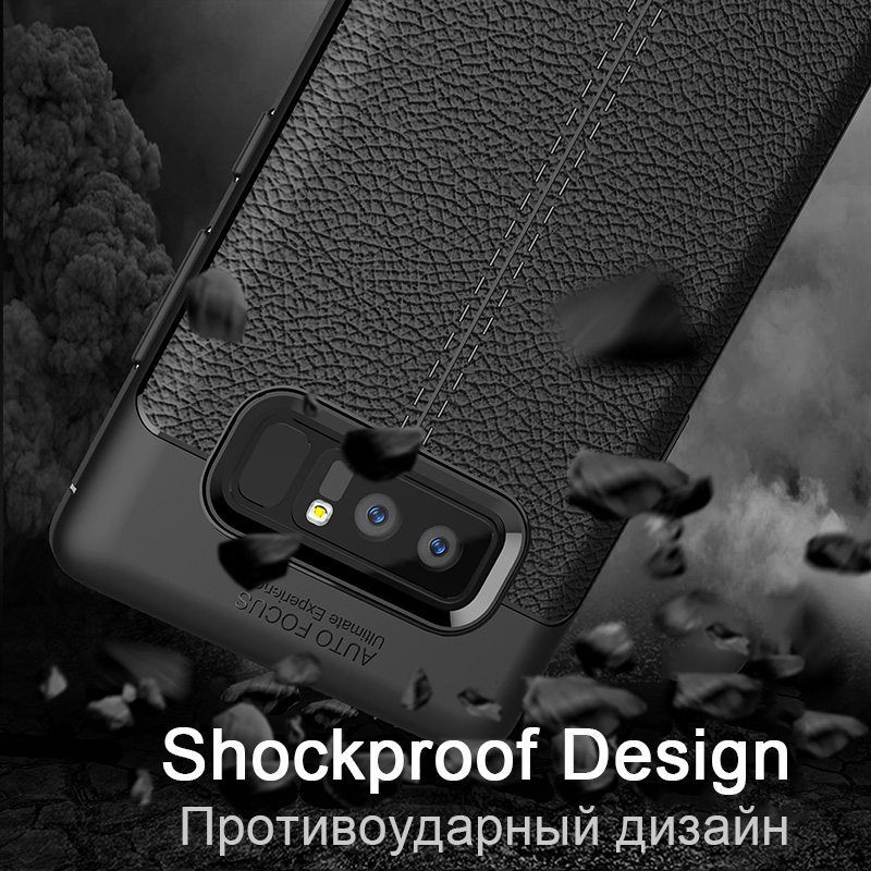 Luxury Carbon Case For Samsung Galaxy Note 8 S8 Plus Cover Leather TPU Soft Coque For Samsung S7 Edge A3 A5 2017 J5 J7 2016 Case (13)