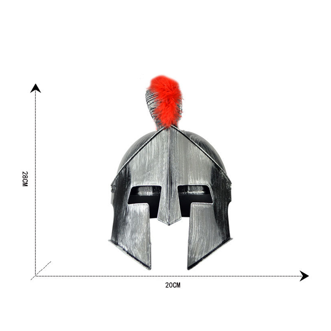 Plastic Sparta Warriors Helmet Hat Party Decorative Helmet For Role Play Party Dress Stage Performance Props
