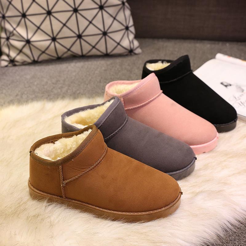 Boots women shoes rain snow ankle autumn winter boots women female chaussures casual rubber women shoes