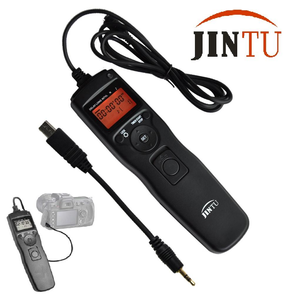 Jintu Temporizador Remoto disparador para Sony A900 A850 A700 A550 A77 II A99 A500