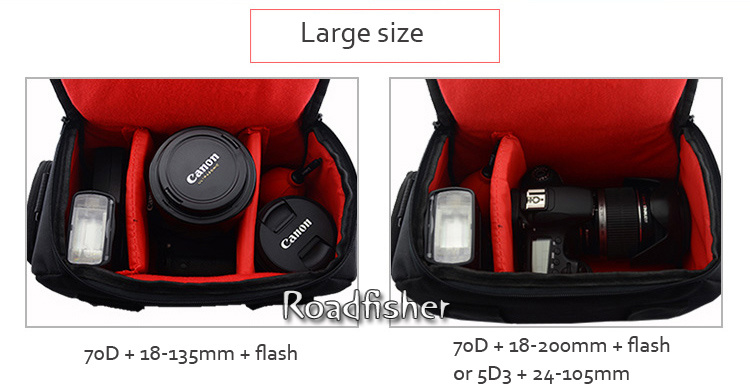 Camera shoulder bag for Canon EOS-17
