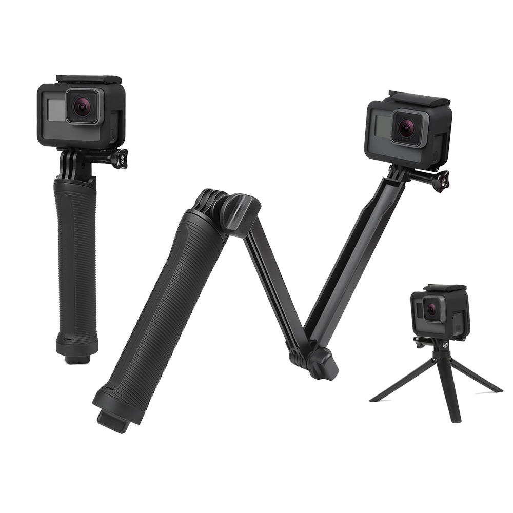 4 Adaptador de montaje trípode monopié para caliente para GoPro HD Hero 5 4 3 2 accesorios de la Cámara