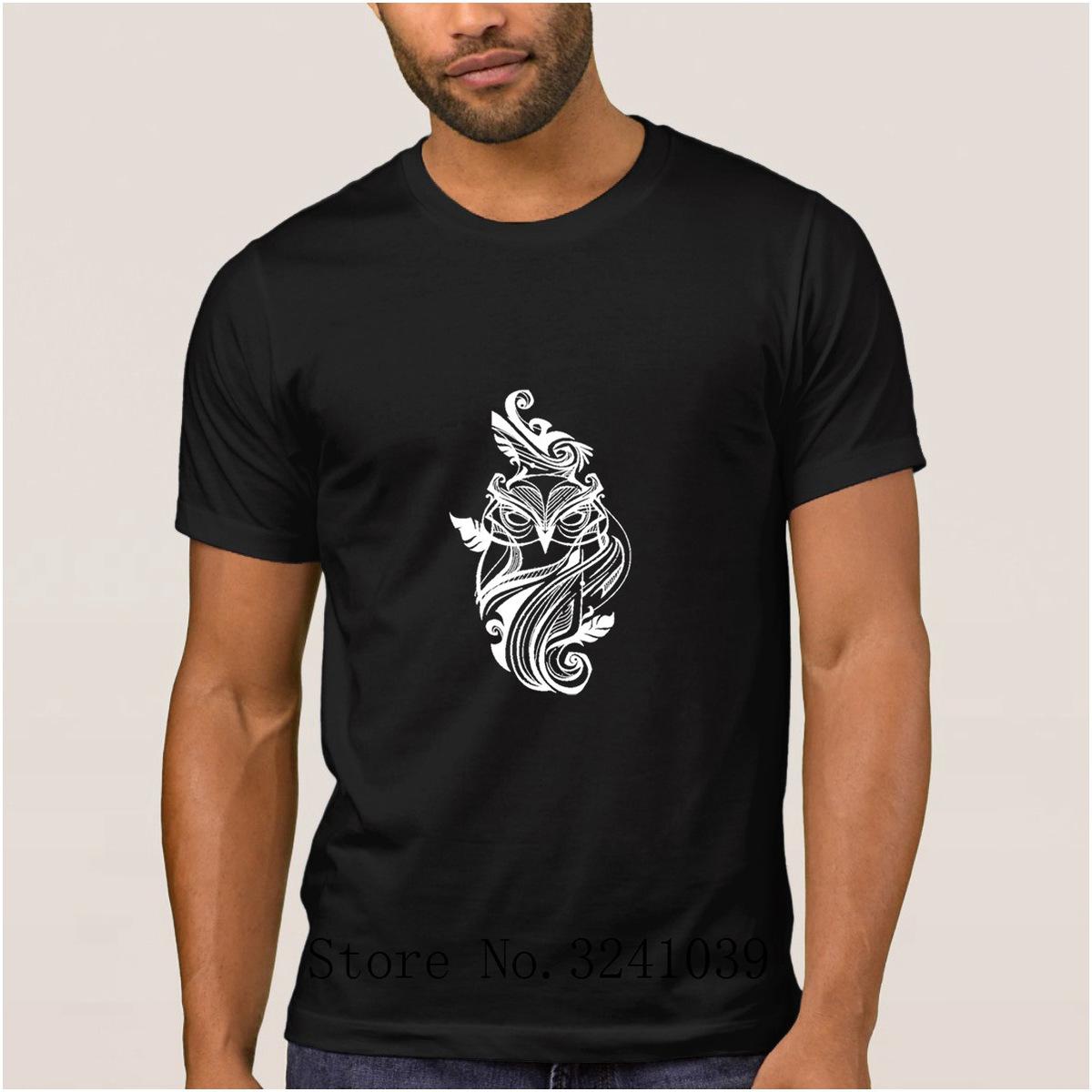 La Maxpa Personalidade Super coruja homens camiseta verão Gráfico Incrível Coruja Senhora regular t-shirt de Lazer camiseta regular para homens O Pescoço