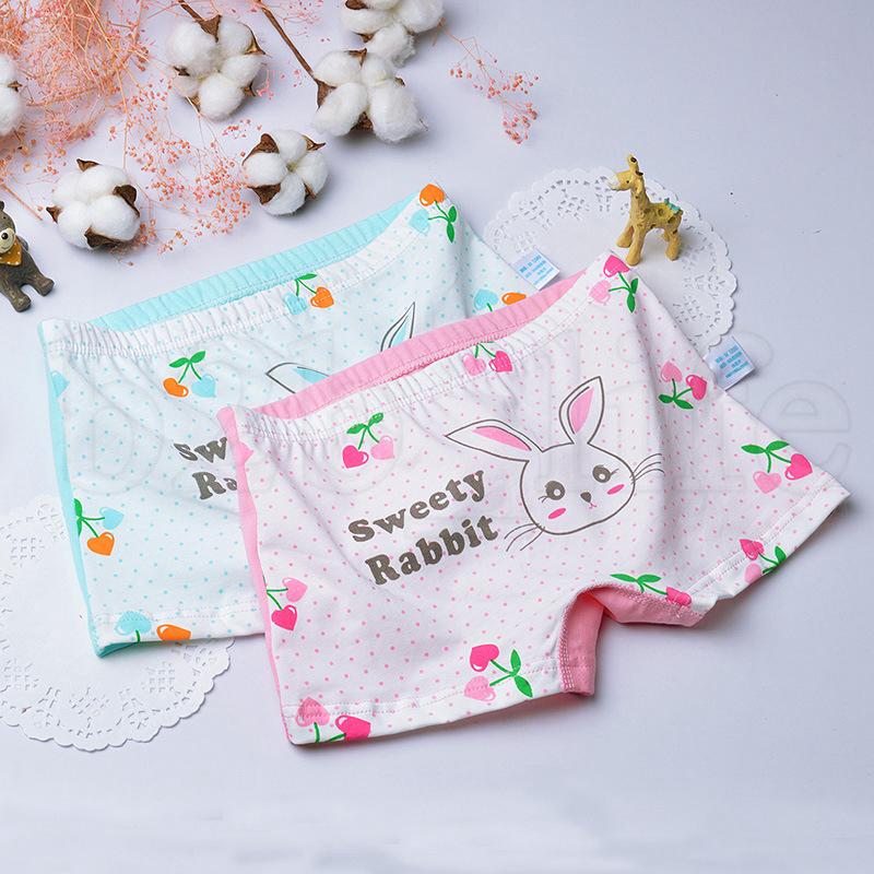 12styles Baby Kids Panties girl Boxers Toddler Girls Soft Shorts cartoon animals printed Panty Children fashion cute Underpants FA1081
