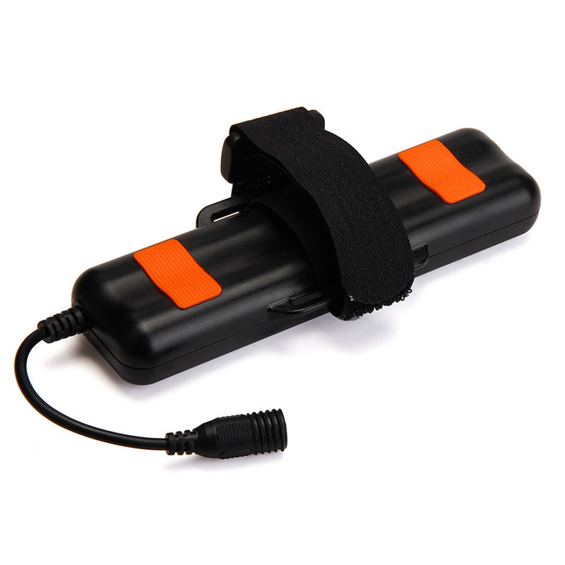 8.4V 12000mAh Rechargeable 4x18650 Battery Pack For Head Bike Bicycle Light 2017