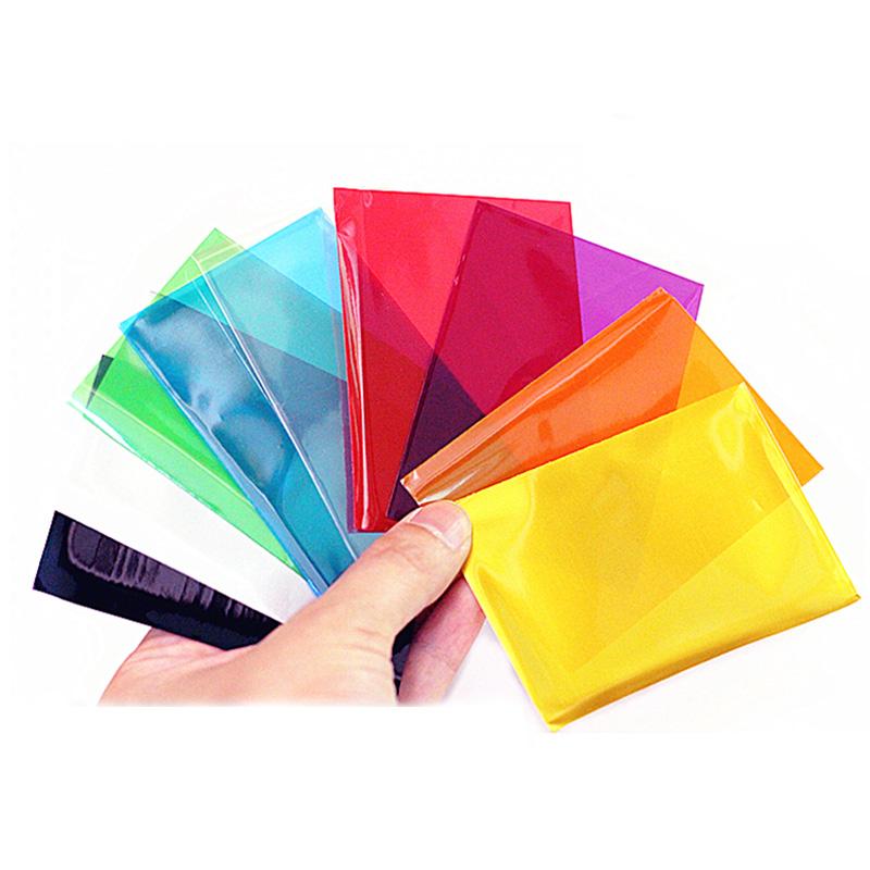 100Pcs coloridas tarjeta Fundas tarjetas protector para las tarjetas de juego de Mesa Magia Mangas