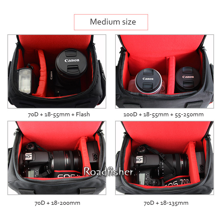 Camera shoulder bag for Canon EOS-18
