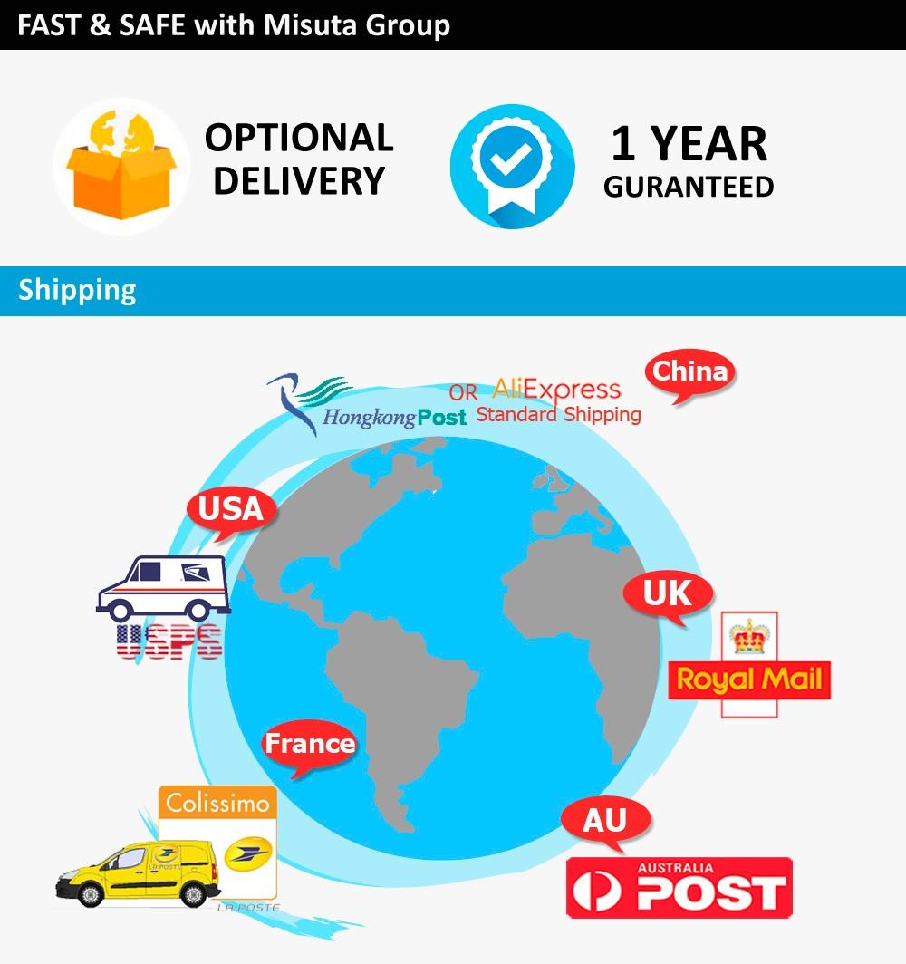 5 location shipping