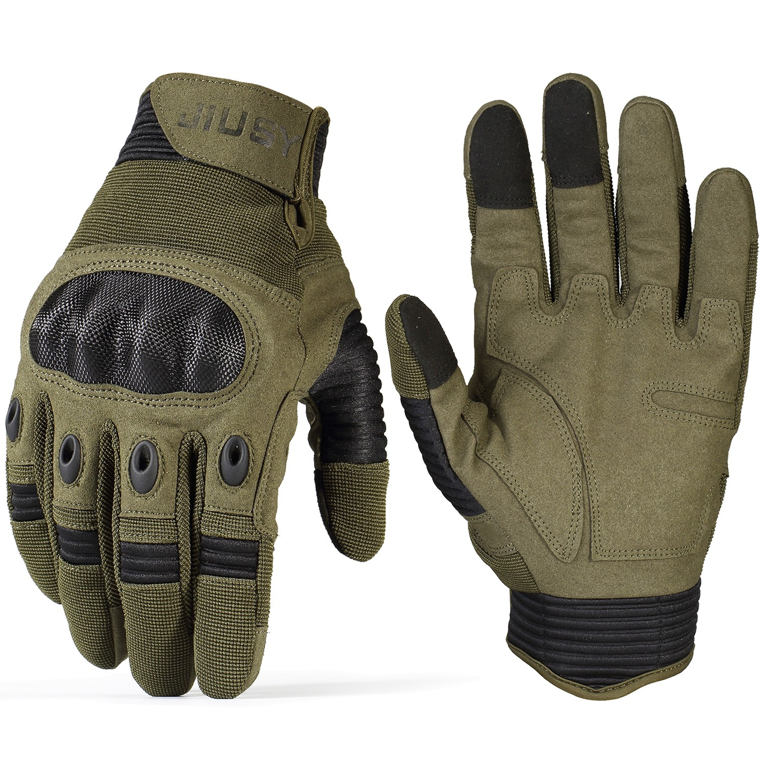 Outdoor Tactical Military Gloves Half Finger Cycling Driving Climbing Mittens BD