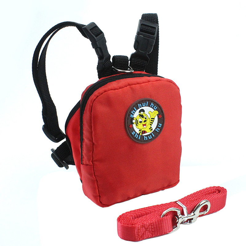 Pet Dog Backpack for Small Dog Nylon Backpack For Pet Cat Multifunction School Bag Dog Backpack With Harness Leash (9)