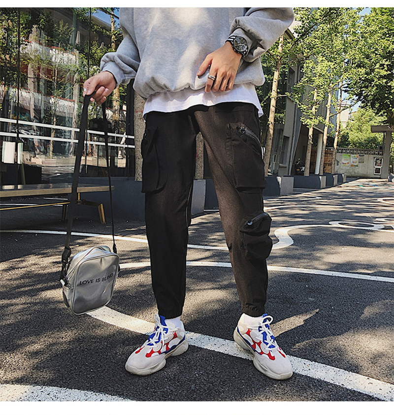 Pocket Tactical Fashions Men Hip Hop Pants Man (23)