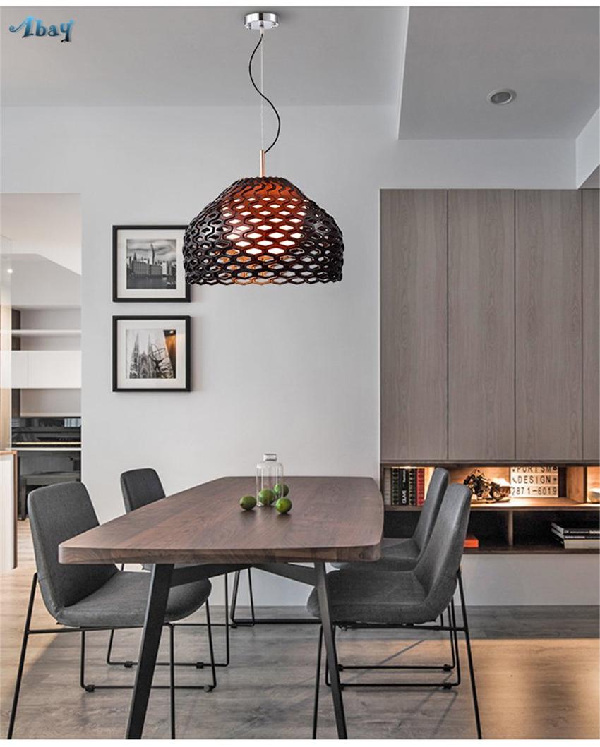 Dänische Design Waben Harz Pendelleuchten Post Moderne Schlafzimmer  Wohnzimmer Nordic Esszimmer Tisch Hängelampen Leuchten