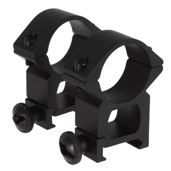 """Quick Release Zielfernrohr Montage 30mm 25mm Schiene Weaver Picatinny Jagd 1/"""""""